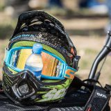 Downhill bike helmet